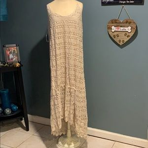NWT city chic crotchet dress